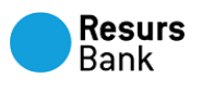 Logo for resursbank